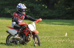 Fire up the dirt bike and get directions to do some serious riding at Saginaw.